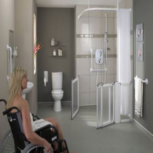 wet rooms and wheelchair accessible showers