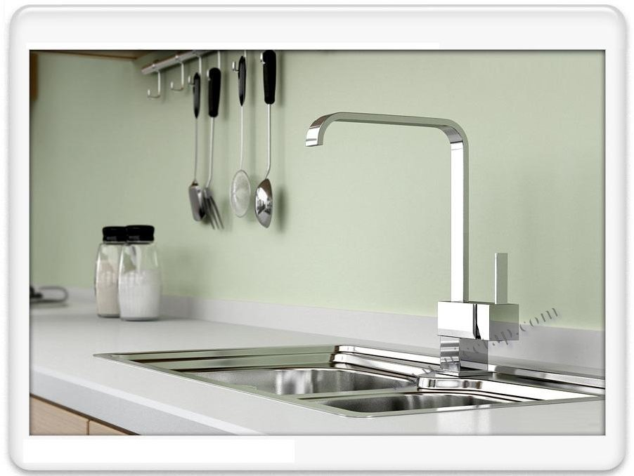 Modern Design Square Shape Single Lever Mixer Kitchen